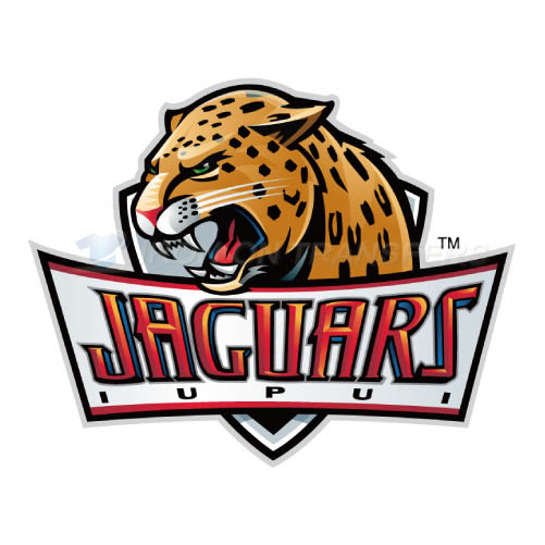 IUPUI Jaguars Iron-on Stickers (Heat Transfers)NO.4680